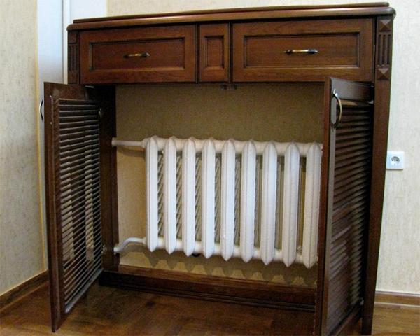 Экраны для радиаторов отопления: какой материал выбрать