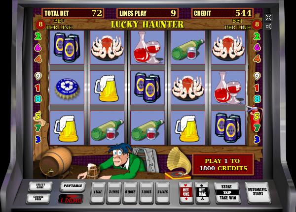 Игровой аппарат Lucky Haunter - игровые автоматы Вулкан Платинум с хорошей отдачей