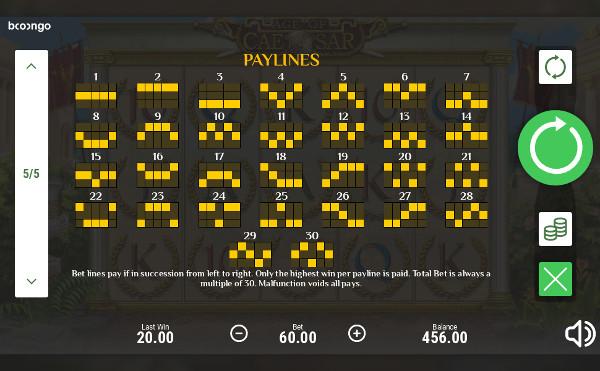 Игровой автомат Age of Caesar - играйте в Vulcan 24 - слоты на деньги в казино