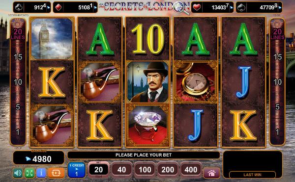 Игровой автомат The Secrets of London - регулярные выигрыши для игроков казино Вулкан Вегас