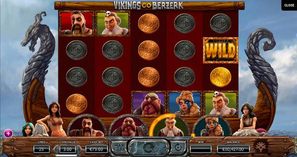 Игровой автомат Vikings Go Berzerk - в казино Вулкан 24 побеждай каждый день