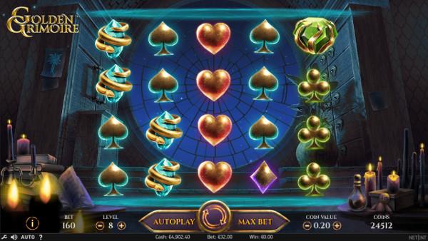 Игровой слот Golden Grimoire - в лучшие автоматы Вулкан играй онлайн на деньги