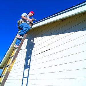 Ремонтные работы шиферной крыши