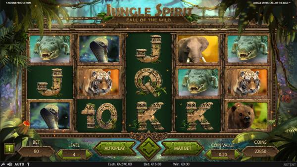 Щедрый автомат Jungle Spirit ждет в казино Вулкан Старс - легальный сайт казино